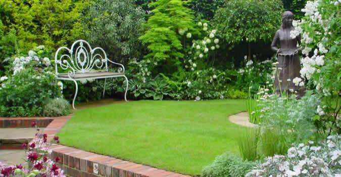 Backyard Landscaping Ideas. Professionally Performed Lawn Maintenance In San  Jose, CA ...